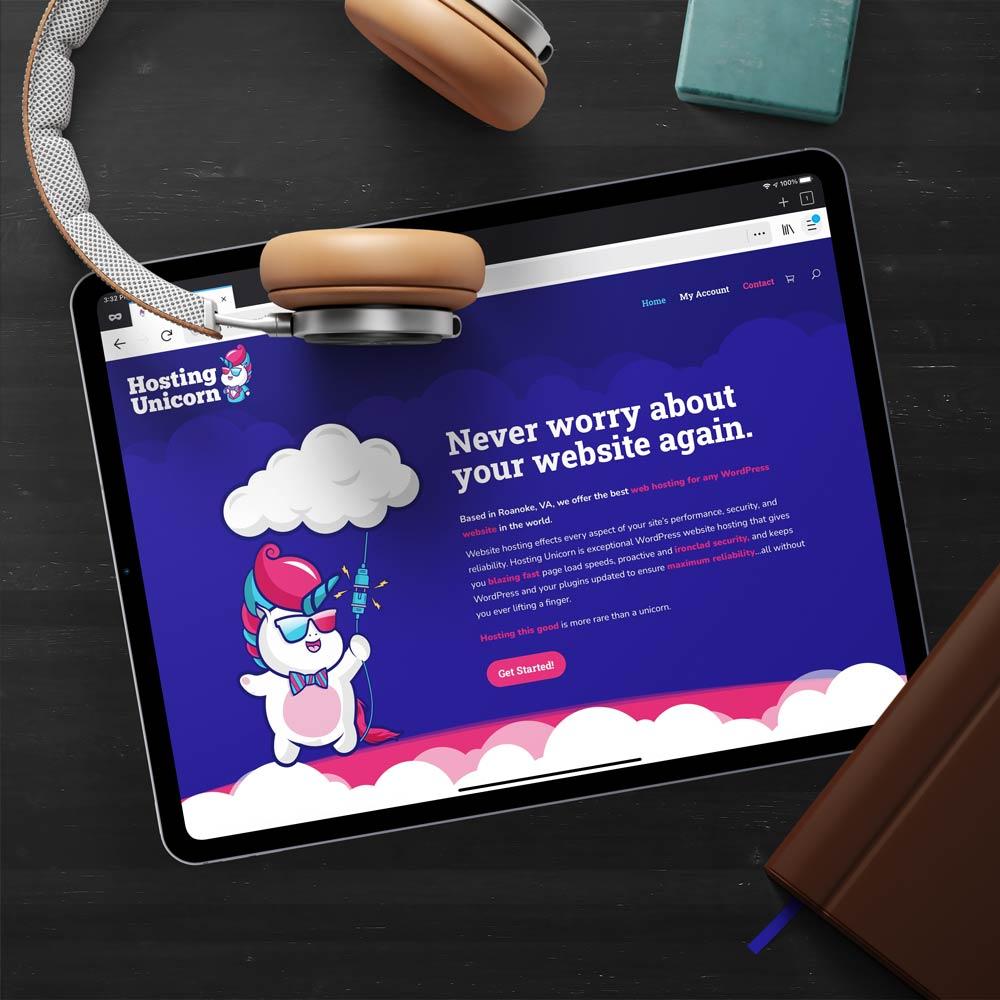 Hosting Unicorn website on an iPad