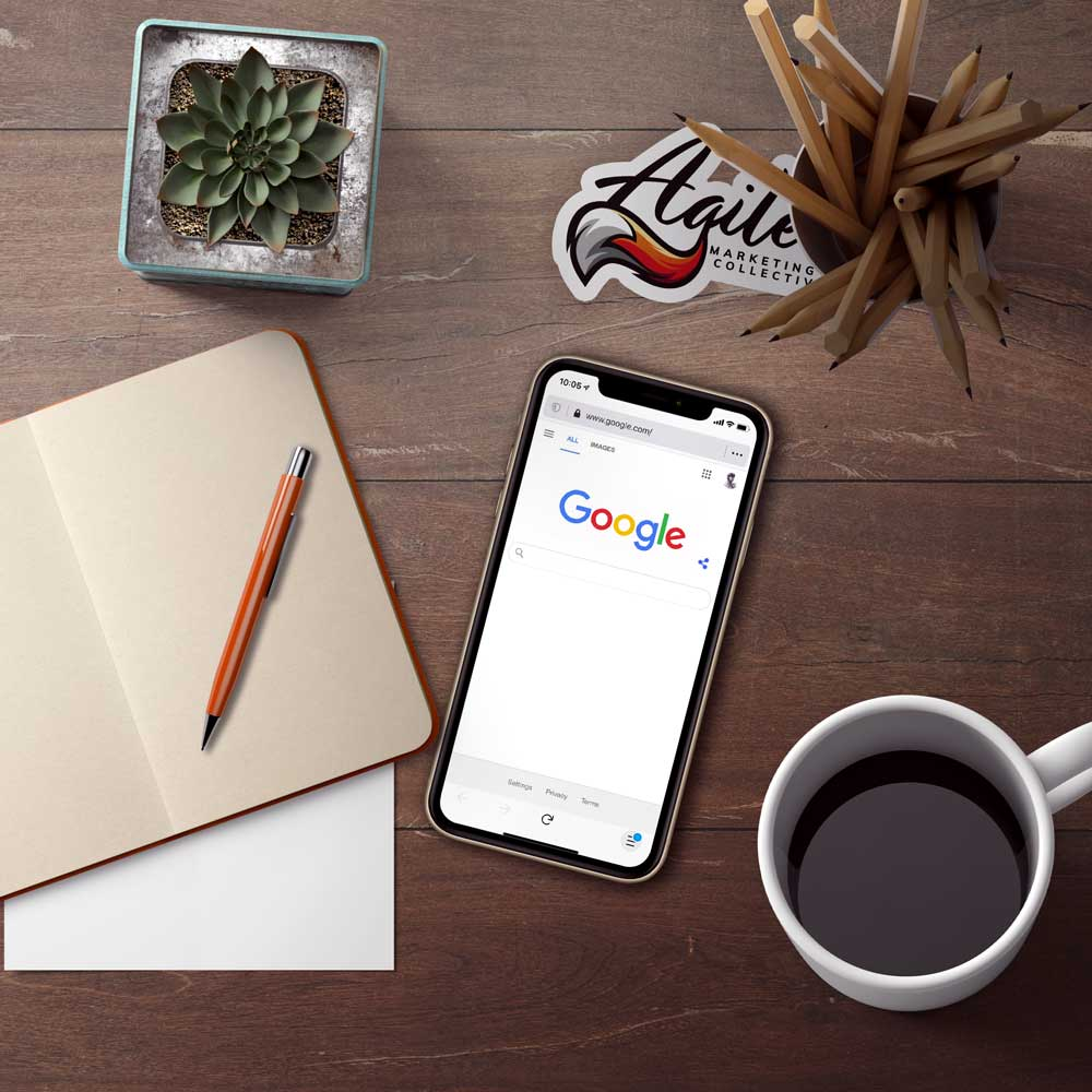 Google search open on mobile phone
