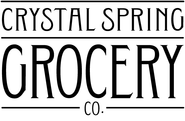 Crystal Spring Grocery Logo